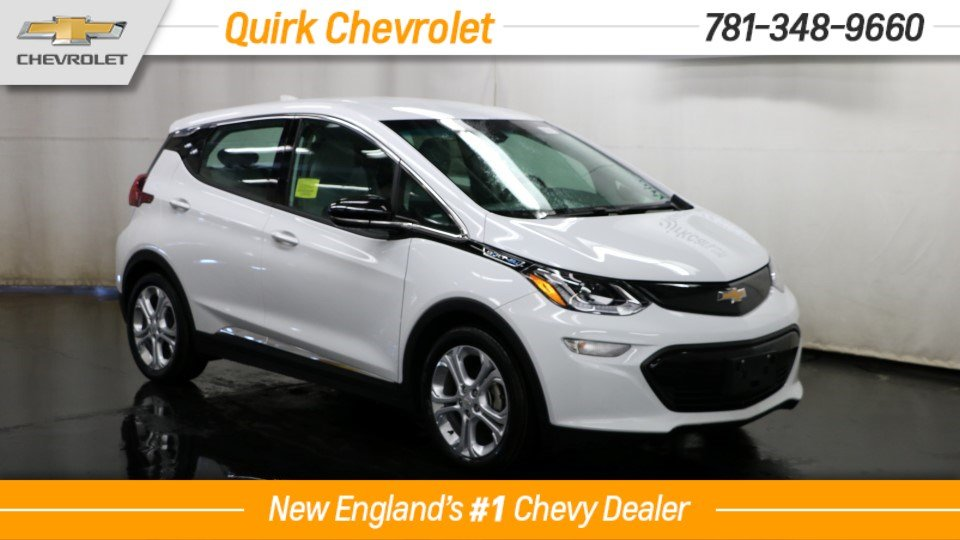 2018 Chevrolet Bolt EV State & Federal Incentives Available