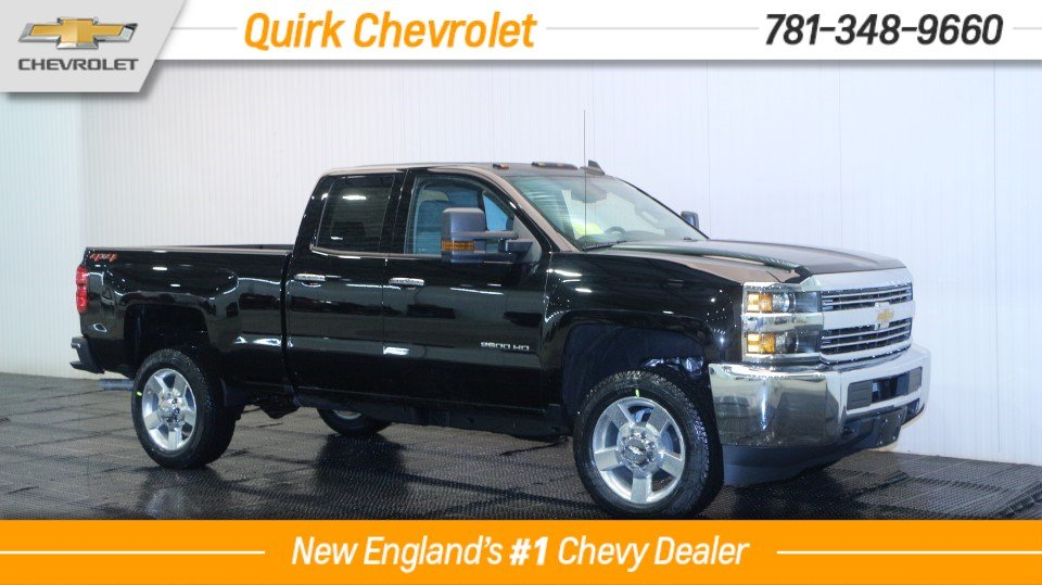 2018 Chevrolet Silverado 2500HD V8 Double Cab Custom 4WD, SAVE $12K