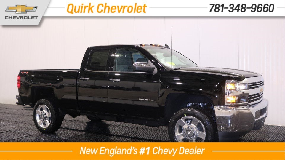 2018 Chevrolet Silverado 2500HD V8 Dbl. Cab Custom 4WD, Save $14,000!