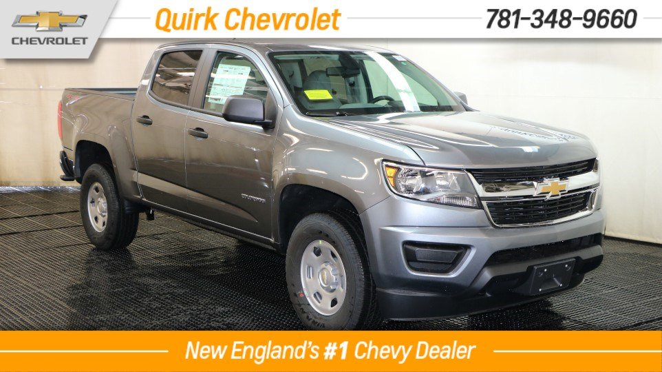 2018 Chevrolet Colorado Crew Cab 4x4, V6