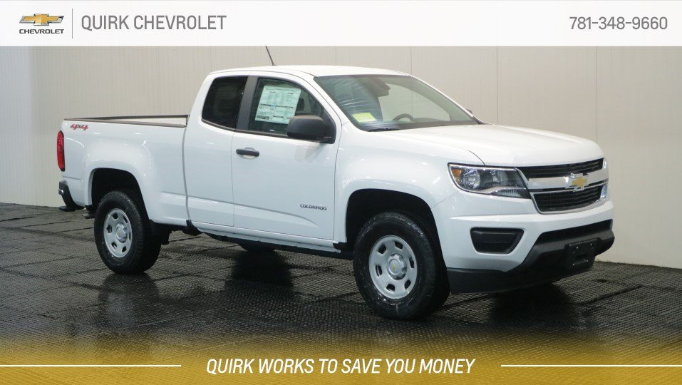 2019 Chevrolet Colorado Ext Cab WT 4x4