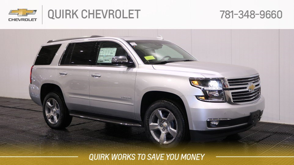 Photo Of Quirk Chevrolet Braintree MA United States Source · New 2018  Chevrolet Tahoe Premier 4WD Sport Utility 59165