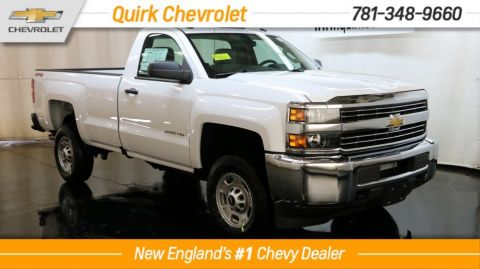 2017 Chevrolet Silverado 2500HD WT Regular Cab